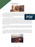 03 de Octubre La Batalla de Las Trincheras