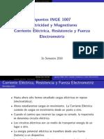 06-Corriente Resistencia y Fuerzaelectromotriz EM