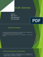 1. Expocision Analisis y Diseño