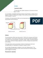 Piezoelectric Materials