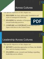 Gl Leadership Across Cultures