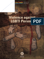 Violence LGBTI People - IACHR
