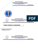 Amplop - Surat Kontrol