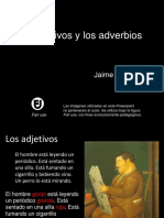 adverbios y adjetivos