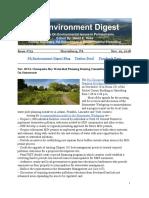 Pa Environment Digest Nov. 19, 2018