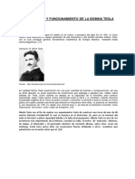 Descripción y Funcionamiento de La Bobina Tesla Ucv