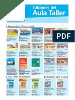 AULA TALLER Fondo Editorial