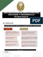 Metodologia de Investigacion y Desarrollo Tecnologico