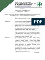 9.4.1.1 SK Semua Pihak Yang Terlibat Dlm Upy Peningkatan Mutu Pelayanan Klinis Dan Keselamatan Pasien