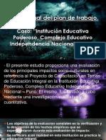 Informe Final Del Plan de Trabajo Diapositivas