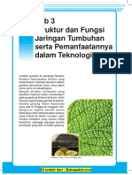 Bab 3 Struktur Dan Fungsi Jaringan Tumbuhan Serta Pemanfaatannya Dalam Teknologi