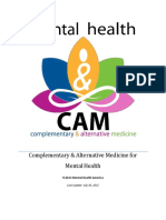 #SOMATIZATION. Complementary and Alternative Medicine