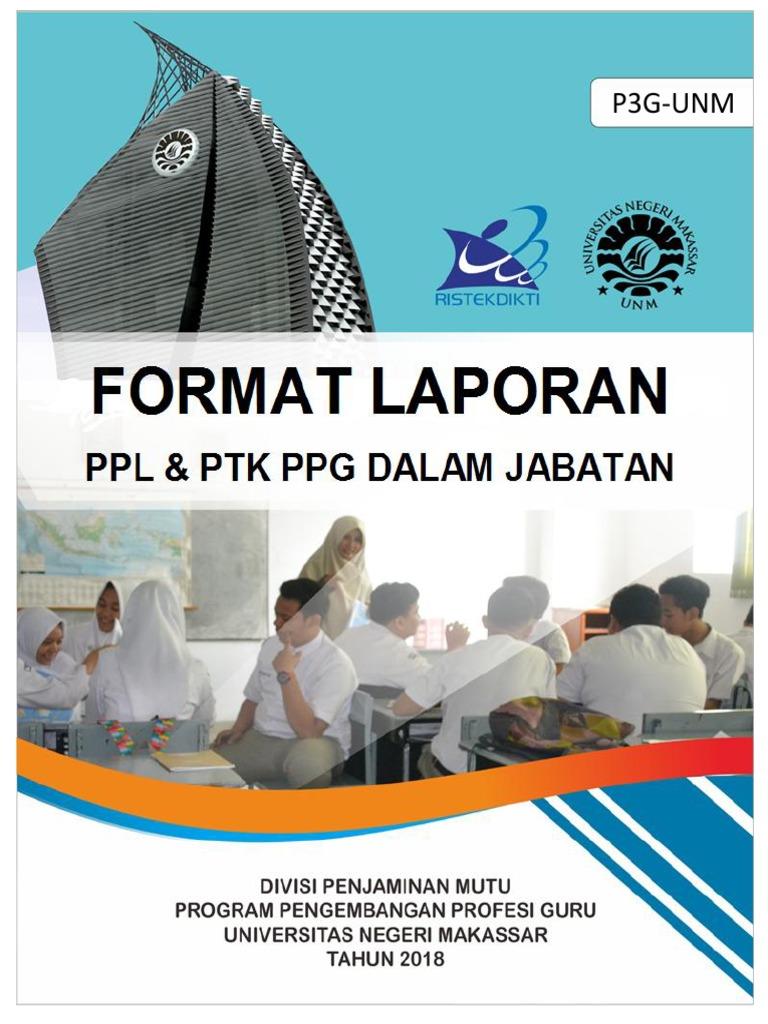 Format Laporan Ppl Dan Ptk Ppg Daljab 2018