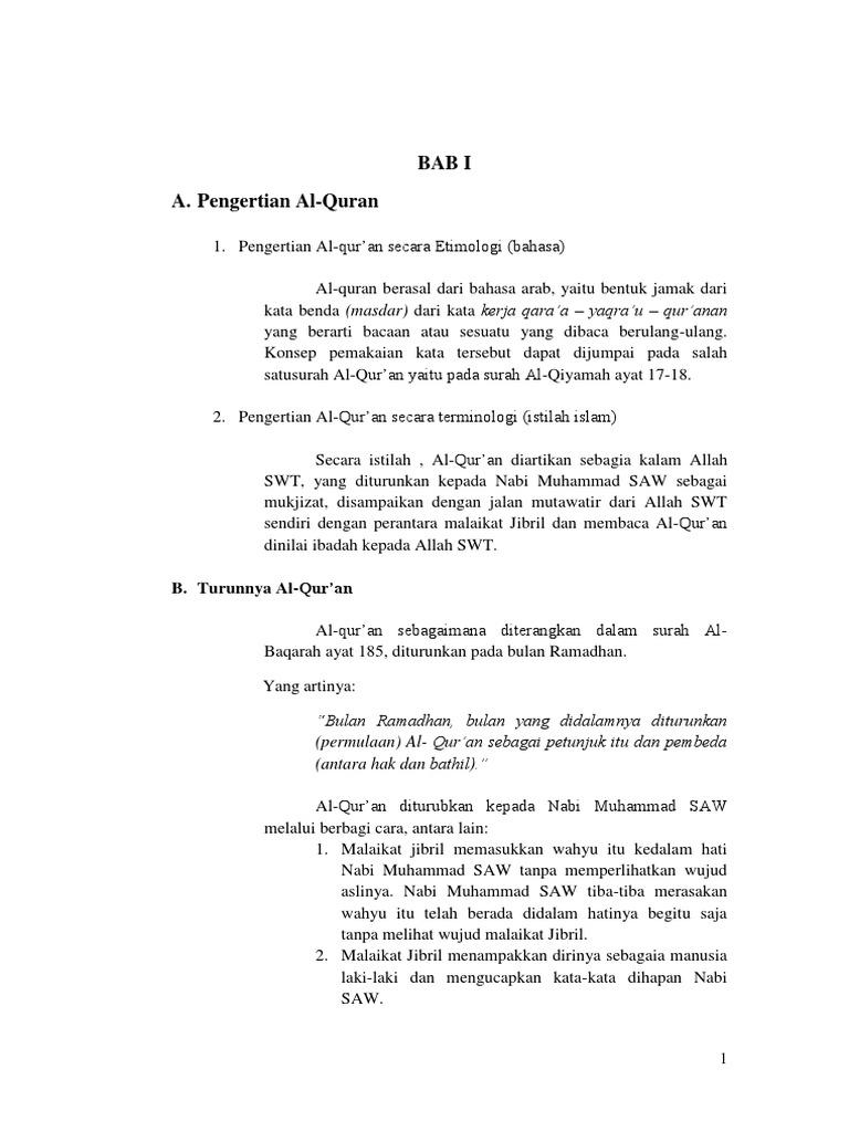 Ihwan Resume Ulumul Hadis Docx