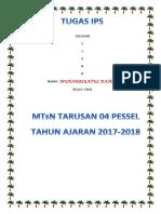 Cover Tugas Rahma