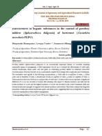 Effectiveness of organic substances in the control of powdery mildew (Sphaerotheca fuligenia) of butternut (Cucurbita moschata PEPO)