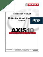 AXIS10 V4 Englisch