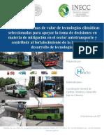 CGMCC 2016 Cadenas de Valor Autotransporte