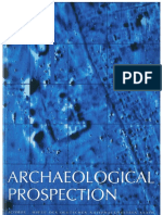 Magnetometry of a Scythian settlement in Siberia near Cicah in the Baraba steppe 1999