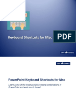 7.2 - Power Point Master Class Shortcuts for Mac