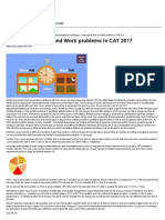 How to Solve Time and Work Problems in CAT 2017