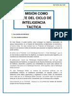 La Mision Como Parte Del Ciclo de Inteligencia Tactica (1)