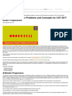 Sequence and Series Problems and Concepts for CAT 2017 Exam Prep.pdf
