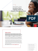 ACCA - Generation Next - Managing Talent in Finance Shared Services