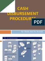 Cash Disbursements Procedures