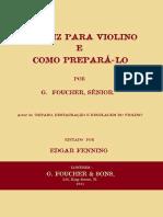 Verniz Para Violino Por g. Foucher