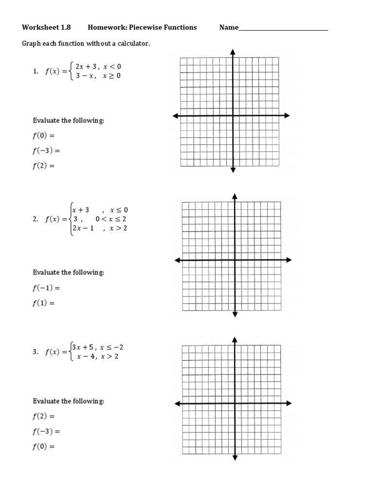 Piecewise Function Worksheet.pdf