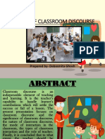 Classroom Discourse