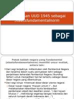 Pembukaan UUD 1945 sebagai staatsfundamentalnorm.pptx