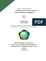 Critical Journal Review Pendidikan Luar Sekolah