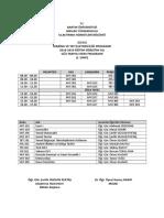 2018-2019 GÜZ Dönemi MYİ Yeni Ders Programı