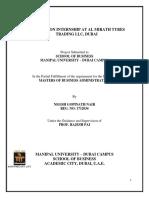 Internship Report_ Al Mirath