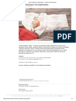 Baby-Schlafsack Mit Zopfmuster - Kostenlose Strickanleitung