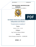 Informe Previo 2 de Máquinas Eléctricas