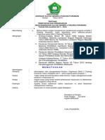 Sk Penetapan Struktur Organisasi Madrasah