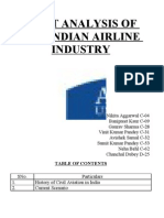 Swot Analysis of the Indian Airline Industry