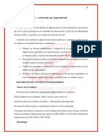Auditoria de Adquisiones