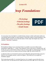 Lecture11 Semi Deep Footings