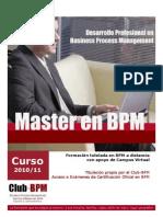 Programa Master en BPM1011