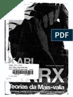 Marx - Teorias da mais-valia - vol. I.pdf