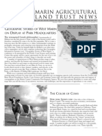 Summer 2006 Marin Agricultural Land Trust Newsletter