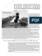 Fall 2007 Marin Agricultural Land Trust Newsletter