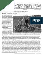 Spring 2008 Marin Agricultural Land Trust Newsletter