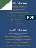 Dr Atif Shahzad Engg Management Module 01