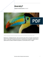 newsela biodiversity article