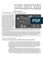 Summer 2009 Marin Agricultural Land Trust Newsletter